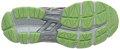 Asics GT-1000 4 GS Synthétique Chaussure de Course Pink-Pistachio-Blue