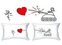 Amore di cattura federe sono semplici e tuttavia adorabile, esclusivamente progettati per esprimere sentimenti d'amore. Questo regalo romantico unico è un ottimo modo di condividere emozioni con una persona cara. Ideale per ogni occasione tra...