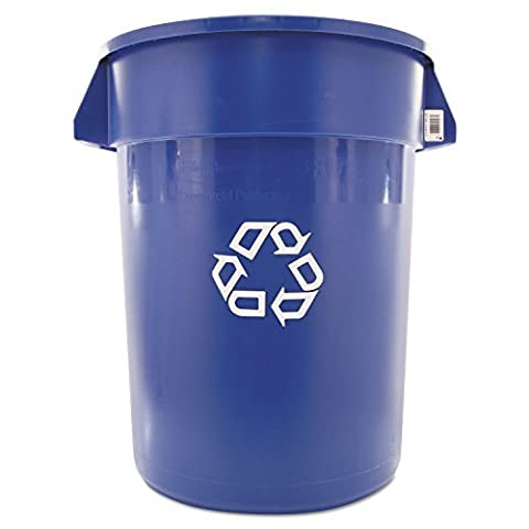BRUTE Professional Grade Recycling Receptacle - 32 Gallon by OFF!