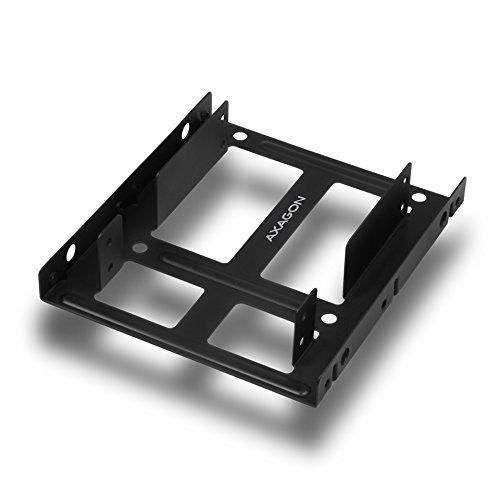 AXAGON Interner Dual Festplattenrahmen, Einbaurahmen 2 x 2,5
