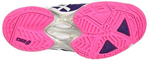 Asics Gel-Solution Speed 3 W, Chaussures de Tennis Femme Viola (Parachute Purple/White/Hot Pink)
