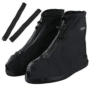 41c6d8gpQBL. SS300 Soumit Copriscarpe Impermeabile (EU 42-43), Copriscarpa Antipioggia con Banda Regolabile per Protezione delle Scarpe…