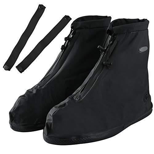 Soumit copriscarpe impermeabile (eu 42-43), copriscarpa antipioggia con banda regolabile per protezione delle scarpe, scarpa copertura riutilizzabile per evitare di sporcare il pavimento