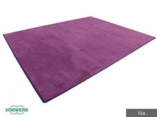 HEVO Vorwerk Bijou lila Teppich | Spielteppich Nicht nur für Kinder 200x300 cm