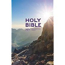 NIV Thinline Value Hardback Bible.
