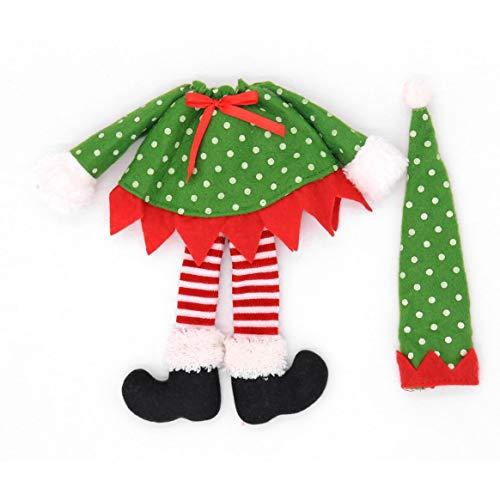 (Mode Weihnachten Weinflasche Covers Kleidung Home Decor Party Tisch Restaurant Abendessen Dekoration Liefert Weihnachten deko)