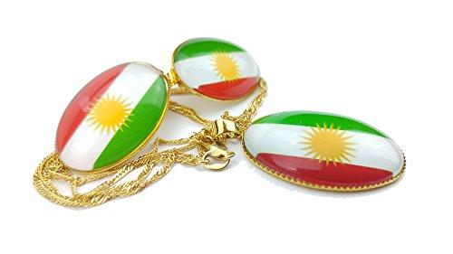stunning-kurdistan-necklace-and-earrings-set-gold-plated-kurdistan-flag