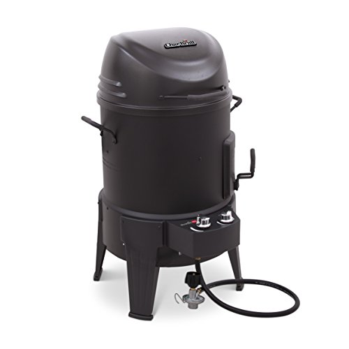 Char-Broil The Big Easy - Smoker, Roaster und Grill 3-in-1, Schwarz.