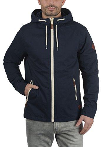 Blend Bobby Herren Übergangsjacke Herrenjacke Jacke gefüttert mit Kapuze, Größe:S, Farbe:Navy (70230) - 2