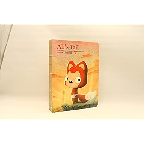Ali The Fox's Tail Sketchbook Story Drawing Book, 6.7