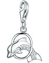 Rafaela Donata - Charm - Argent sterling 925 oxyde de zirconium, charm oxyde de zirconium, bracelets, bijoux en argent - 60601022