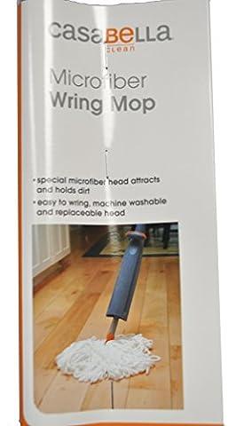 Casabella Microfiber String Wring Mop Graphite and