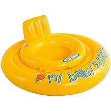 Intex 56585EU - Salvagente My Baby Float, con Mutandina Bambini,  per 1/2 - 1 Anni, Giallo