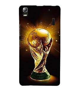 EPICCASE Soccer Cup Mobile Back Case Cover For Lenovo K3 Note (Designer Case)