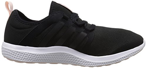 Adidas Performance frais Bounce W Chaussure de course, noir / noir / moitié rose, 5 M Us Black/Black/Half Pink