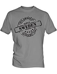 Made In Sweden - Mens T-Shirt T Shirt Tee Top