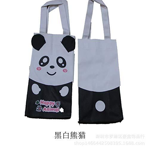 Cartoon KT Katze Jingle Katze tragbare Wasser Tasche weinbeutel im freien einzigen doppel Flasche Tasche Kind Regenschirm Tasche wasserdichte Panda (Mickey Badespielzeug)