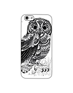 Dukancart Black and White Animal Back Cover for Apple iPhone 6 DDI60033