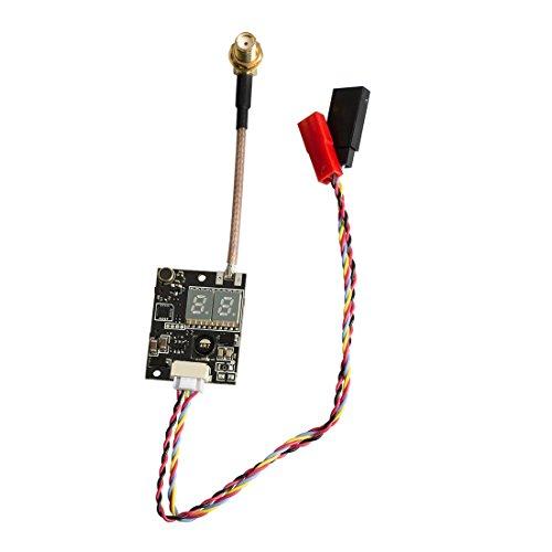 Gotoqomo G831P 5.8GHz 40CH Doppelte LED Anzeige Audio Video Sender mit Pigtail für FPV Multikopter (mit Mikrofon)