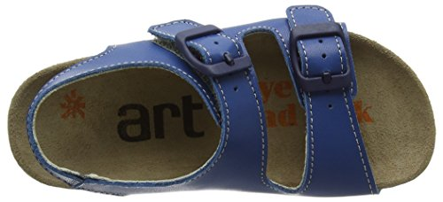 Art Kids PAN EU A436, Plateforme plate mixte enfant Bleu (Reef)