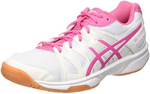 ASICS Gel-Upcourt, Scarpe da pallavolo Donna, Multicolore Azalea Pink/White, 36 EU
