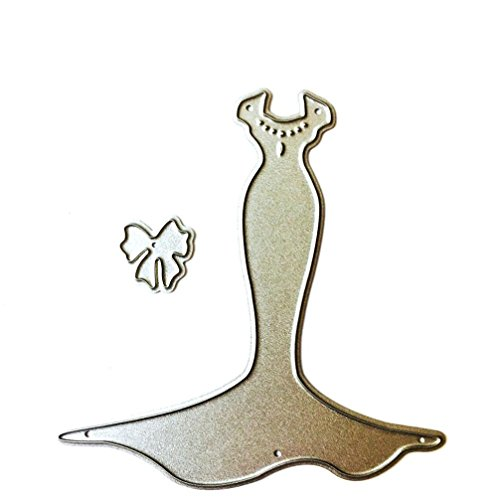 FNKDOR Stanzschablone Scrapbooking Schablonen Embossing Machine Prägeschablonen Schneiden Stanzformen, für Sizzix Big Shot und andere Stanzmaschine (E)
