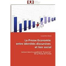 La presse economie entre identités discursives et lien social