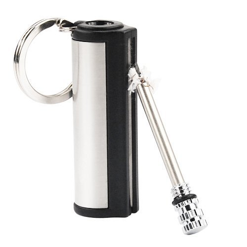Finmind GadgetpoolUK PERMANENT Metall Match Box FEUERZEUG Gadget Geschenk Keychain Key
