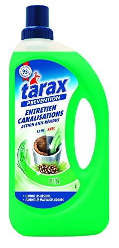 Tarax - Entretien Canalisations Biologique - Ecocert - 1 L - Lot de 2