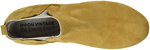 Ippon Vintage Patch-flyboat, Stivali Chelsea Donna Giallo (Safran)