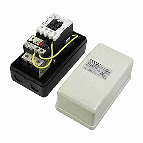 Move&Moving(TM) AC 220V Coil 5.5-8.5A 3-Phase Electromagnetic Starter Motor Control