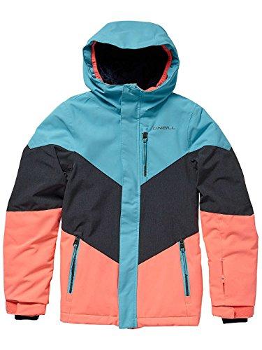 O'Neill Mädchen Kinder Snowboard Jacke Coral Jacket Girls, Island Blue, 152 Oneill Snowboard