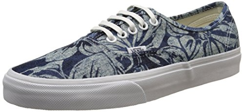 Vans Authentic, Sneakers mixte adulte - Bleu (Indigo Tropical/Blue/True White), 38 EU