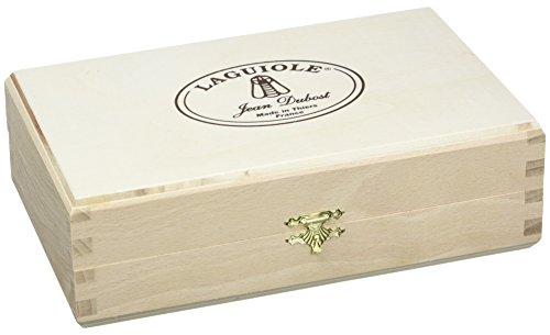 Laguiole Jean Dubost 98/11696Austernöffner-Set inkl. Austernmesser Laguiole ABS schwarz