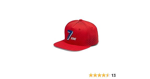 Scuderia Ferrari Fanwear Kimi Raikkonen Flat Brim Cap Bekleidung