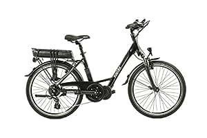 Easybike Velo Electrique Easymax M16-D8 Gris Caviar 24'