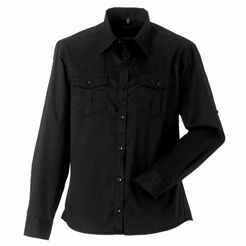 Russell - Camicia Maniche Lunghe Arrotolabili - Uomo Deserto