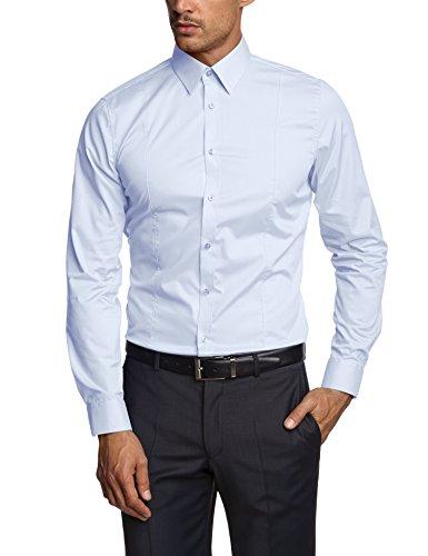 Venti Herren  Business Hemd 001470, Gr. Kragenweite: 40, Blau (blau 108)