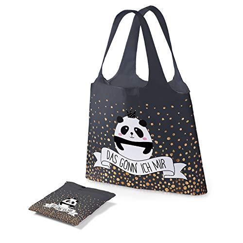 Preis am Stiel Tasche – Das gönn Ich Mir | Einkaufstasche Faltbar | Schultertasche Damen | Mädchen Taschen Kinder | Tasche mit Aufdruck | Shopping Bag | Geschenk für Frauen | Faultier