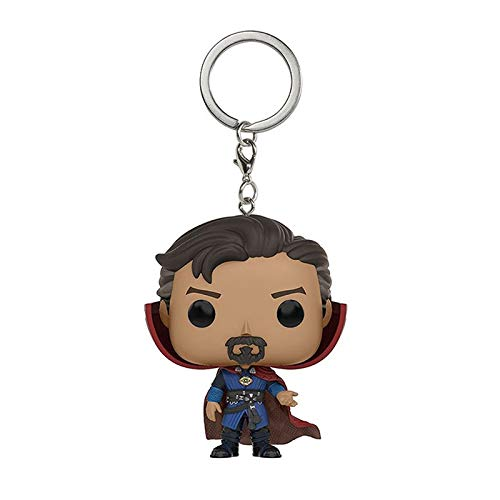 B123 Action & Toy Figures - Avengers 3 Infinity War Hulk Iron Man Spiderman Thanos Vision Captain America Ant Thor Loki Grooted Action Figures Keychain Toys - by 1 PCs (10 1 Doll Scale)
