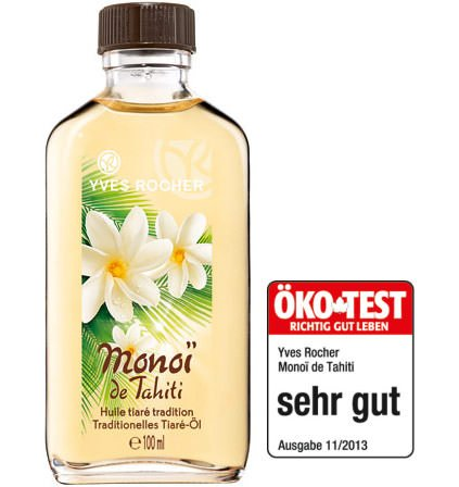 Yves Rocher - Monoi de Tahiti – pflegendes Körper-Öl (100ml): Pflege für Haut & Haare mit exotischem Tiaré-Duft (Öko-Test: Sehr gut)