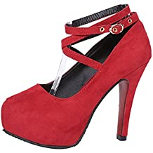774a9a71c2d84 MISSMAOM Scarpe col Tacco Donna Strappy Hight Heels Scarpe Tacco Alto Sexy  Nobile ed Elegante per
