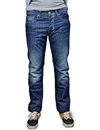 TIFFOSI - Jean homme droit straight fit - Jean homme taille 46 REF: BEN - Taille 46