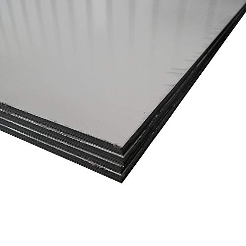 Alu-Verbundplatten Aluverbundplatte in verschiedenen Größen Weiss 3 mm stark Sandwich Platte (1000x750mm)