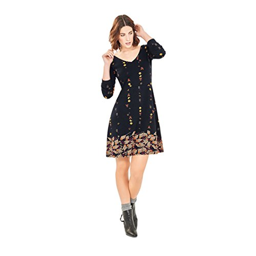 Surkana mofe robe noir Noir - Noir