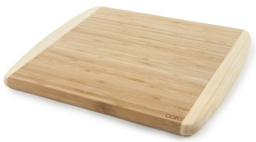 Core Bamboo Peony Collection Cutting Board, Medium by Core Bamboo