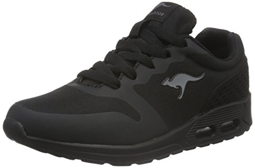 KangaROOS Unisex-Kinder Kanga X 2200 Low-Top, Schwarz (black 500), 39 EU