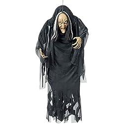 Bruja de halloween figura decoración de terror artículo de miedo