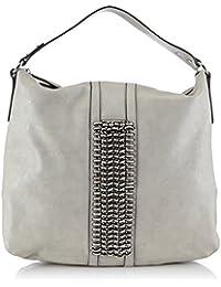 50266-9000 More /& More VIVIAN Handtasche mit Überschlag Schwarz NEU