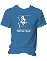 """You're A Big Man, But You're In Bad Shape"" Get Carter Film Quote Micheal Caine T-Shirt"